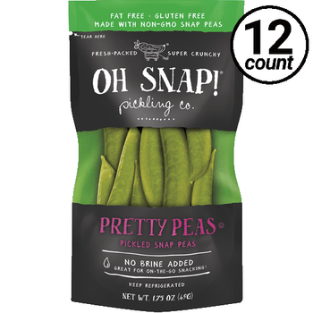 Oh Snap! Pickling Co., Pretty Peas, 1.75 oz. (12 Count)