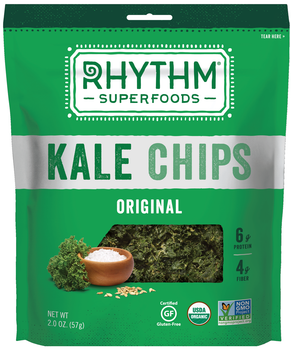 Rhythm Superfoods, Kale Chips, Original, 2 Oz Bag (1 Count)