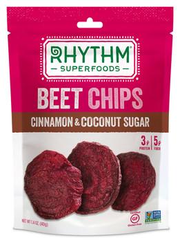Rhythm Superfoods, Beet Chips, Cinnamon & Coconut Sugar, 1.4 Oz Bag (1 Count)