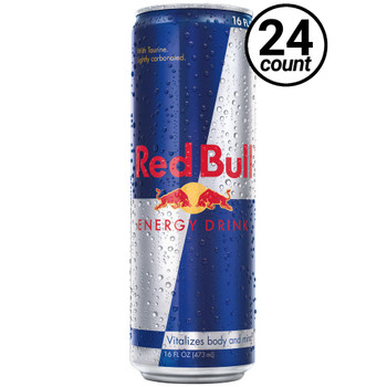Red Bull, 16 oz. Cans (24 Count Case)