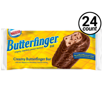 Nestle Butterfinger KING SIZE Frozen Bar, 4 Oz (24 Count)
