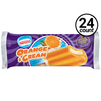 Nestle Orange & Cream Frozen Bar, 3 Oz (24 Count)