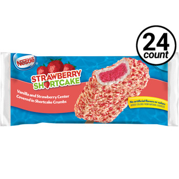 Nestle Strawberry Shortcake Frozen Bar, 4 oz. (24 count)