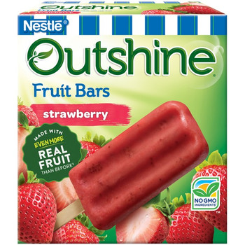 Outshine Strawberry Frozen Fruit Bars, 4 oz (24 count)