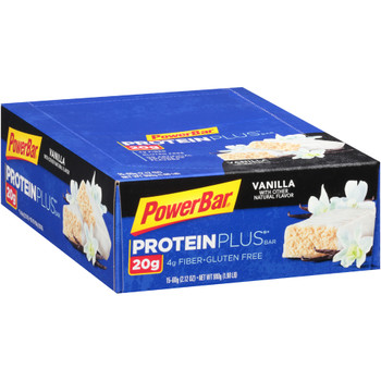 PowerBar Protein Plus. Vanilla, 2.12 oz. (15 count)