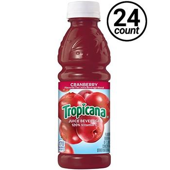 Tropicana, Cranberry, 15.2 oz. Bottle (24 Count Case)