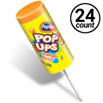 Popsicle, Orange Burst Pop-Ups, 2.75 oz. (24 count)