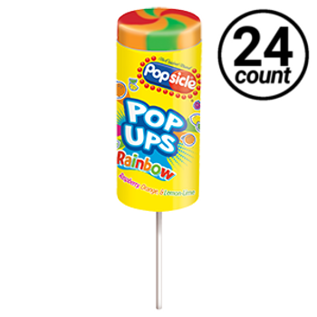 Popsicle, Rainbow Pop-Ups, 2.75 oz. (24 count)