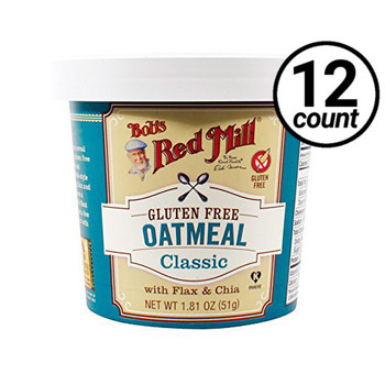 Bob's Red Mill, Classic Oatmeal, 1.81 oz. Cup (12 Count)