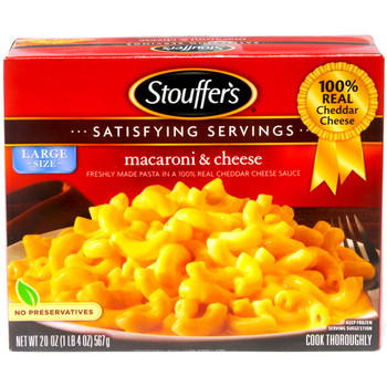 Stouffer's, Macaroni & Cheese, 20 oz. Packaged Meal (1 Count)