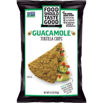 Food Should Taste Good, Guacamole, 5.5 Oz Bag (1 Count)