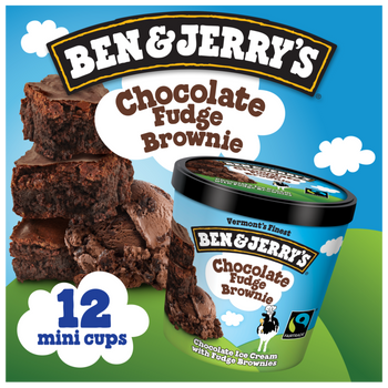 Ben & Jerry's, Chocolate Fudge Brownie Cups (12 Count)