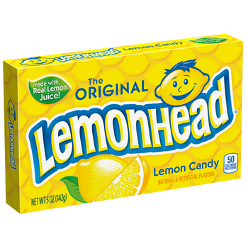 Lemonhead, Lemon Candy 5.0 oz. theater box (1 count)