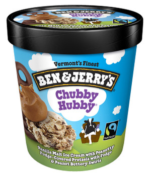 Ben & Jerry's, Chubby Hubby Ice Cream, Pint (1 Count)