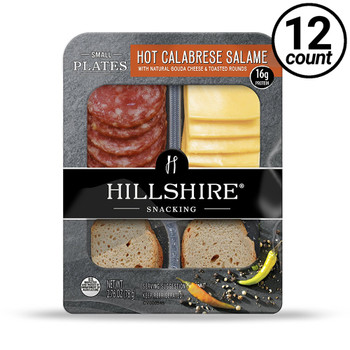 Hillshire Snacking Plates, Hot Calabrese Salame, 2.76 oz. (12 count)