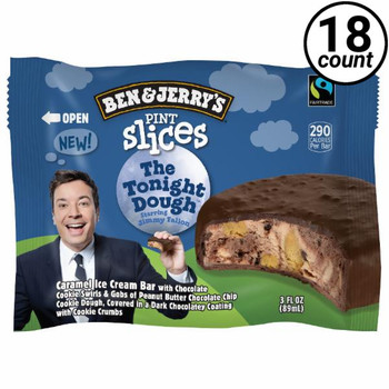 Ben & Jerry's, Tonight Dough Slices (18 Count)