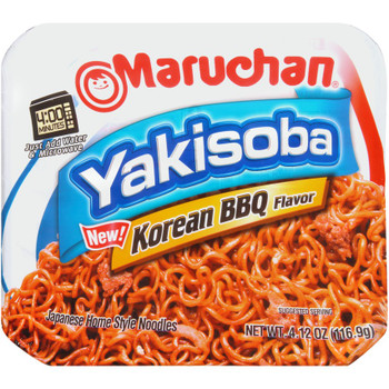Maruchan, Yakisoba home-style japanese noodles, Koean BBQ 4.12 oz. (1 count)