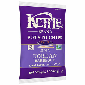 Kettle Brand, Korean BBQ, 2.0 oz. (1 count)