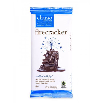 Chuao Chocolate Firecracker Bar, 2.8 oz. (12 count)