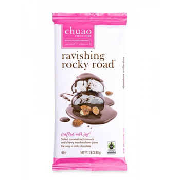 Chuao Chocolate Ravishing Rocky Road Bar, 2.8 oz. (12 count)