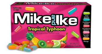 Mike and Ike, Tropical Typhoon, 5.0 oz. Box (1 count)