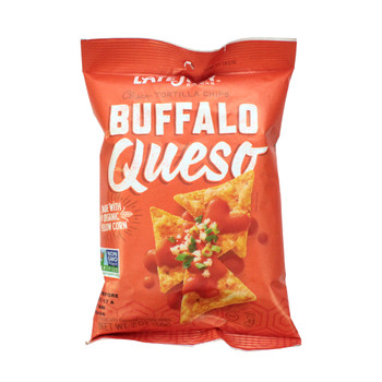 Late July, Clasico Tortilla Chips, Buffalo Queso, 2.0 Oz bag (1 Count)
