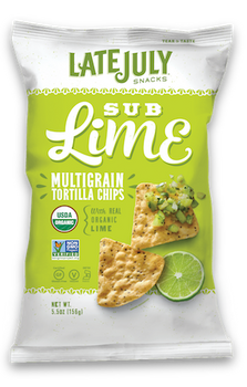 Late July, Multigrain Tortilla Chips, Sublime, 5.5 oz. (1 count)