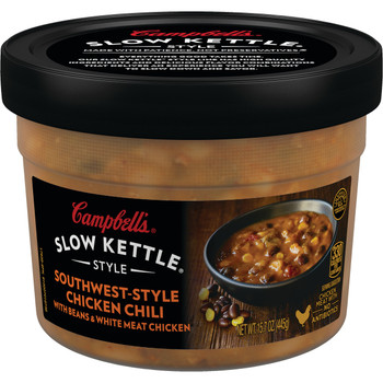 Campbell's Slow Kettle Style, Southwest Chicken Chili, 15.5 Oz (1 Count)