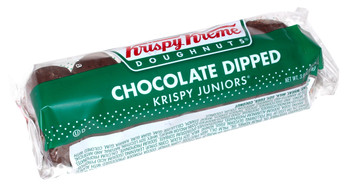 Krispy Kreme, Chocolate Doughnuts, 3 Oz Pack (12 Count)
