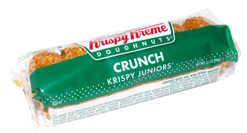 Krispy Kreme, Crunch Doughnuts, 3.5 Oz Pack (12 Count)