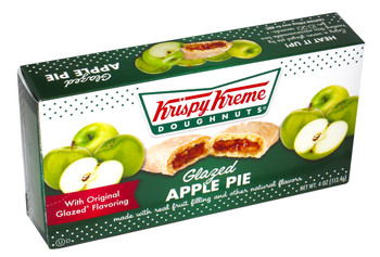 Krispy Kreme, Glazed Apple Pie, 4 Oz (48 Count)