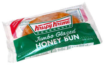 Krispy Kreme, Jumbo Glazed Honey Buns, 5 Oz (9 Count)