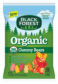 Black Forest Organic Gummy Bears 4.0 Oz (1 Count)