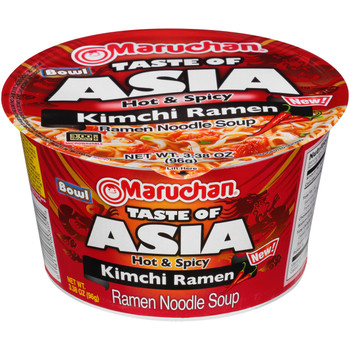 Maruchan, Taste of Asia, Kimchi 3.38 oz. Bowl (1 Count)