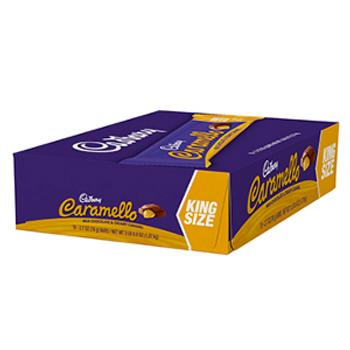 Cadbury Caramello, KING SIZE, 3 Oz (18 Count)