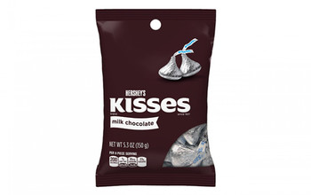 Hershey's Kisses, Milk Chocolate, 5.3 Oz Bag (1 Count)