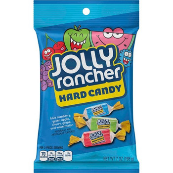 Jolly Rancher Hard Candies, Assorted Flavors, 7 Oz Bag (1 Count)