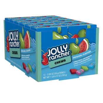Jolly Rancher, Fruit Chews, 2.06 Oz Box (12 Count)
