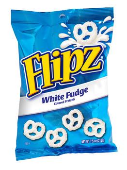 Flipz White Fudge Pretzels, 7.5 Oz Bag (1 Count)