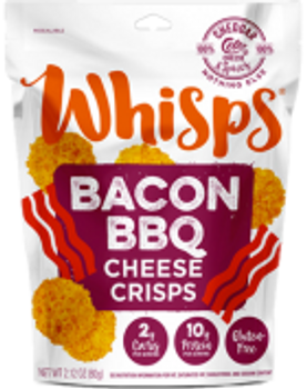 Cello BBQ Bacon Cheddar Cheese Whisps, 2.12 oz (1 count)