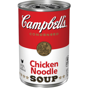 Campbell's Condensed Soup, Chicken Noodle, 10.75 Oz Can (1 Count)
