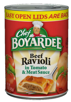 Chef Boyardee, Beef Ravioli, 15 Oz Can (1 Count)