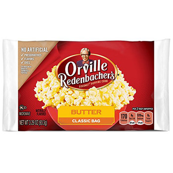 Orville Redenbacher's Popcorn, Butter 3.3 oz. Microwavable (1 count)