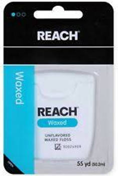 Johnson & Johnson Reach, Waxed Dental Floss/55 yds (1 Count)