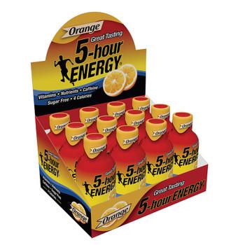 5-Hour Energy, Orange Flavor, 2 Oz (12 Count)