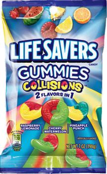 Life Savers Gummies, Collisions, 7 Oz Bag (1 Count)
