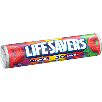 Life Savers Hard Candies, 5 Flavor, 1.14 Oz Roll (20 Count)