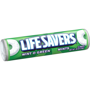 Life Savers Hard Candies, Wint-O-Green, 0.84 Oz Roll (20 Count)