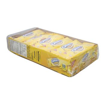 Nabisco Oreo, Golden Sandwich Cookies, 2.4 Oz Pack (12 Count)