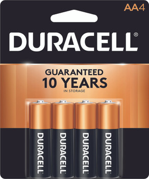 Duracell Batteries, Alkaline AA, 4-Pack (14 Count)